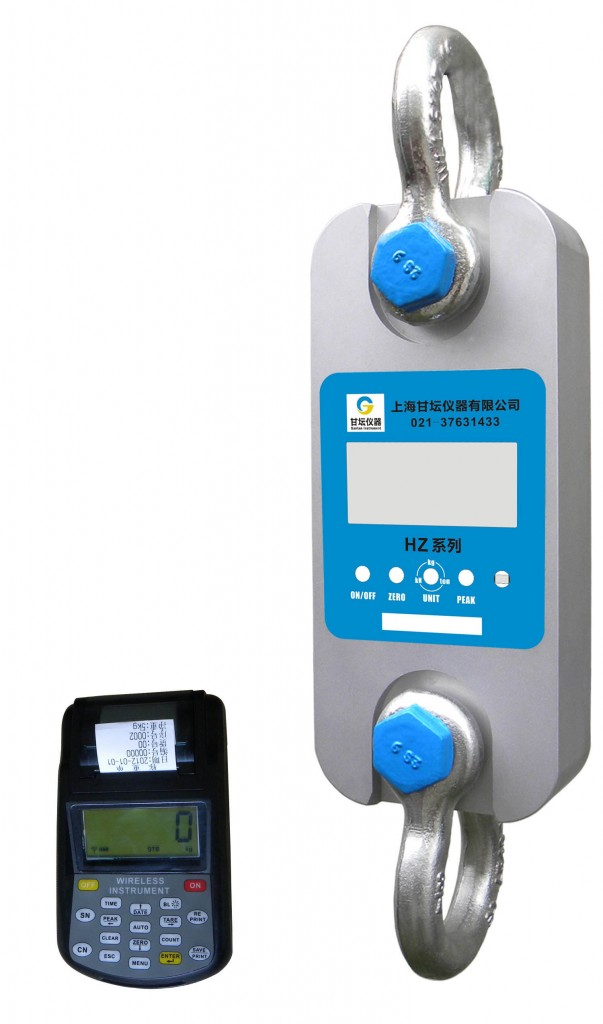 信号塔用500KN电子拉力器-超强抗干扰无线测力计