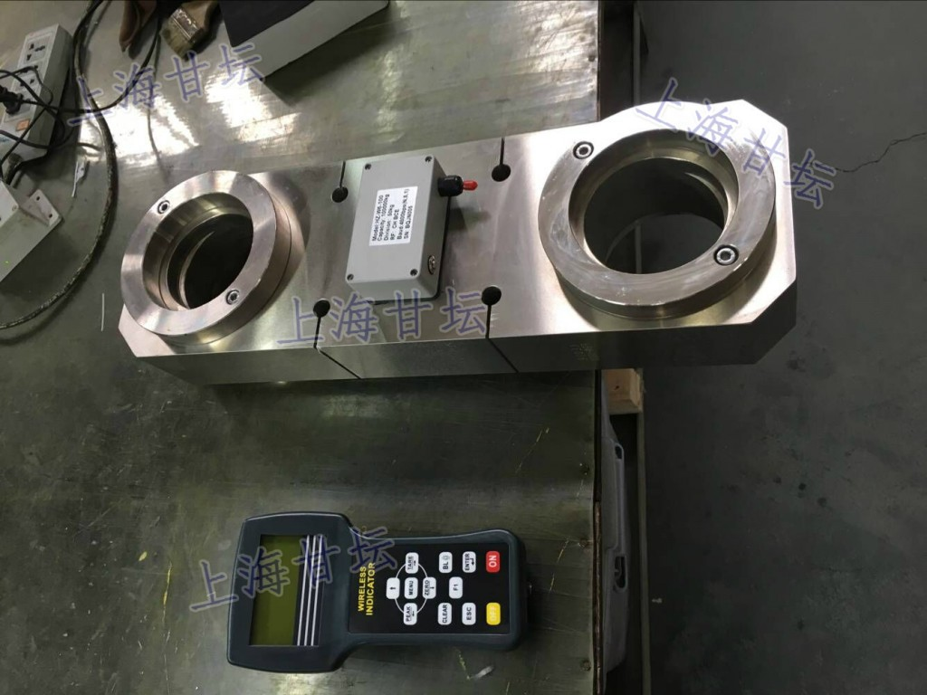 标准50吨电子拉力仪 测压力计 配置卸扣55T