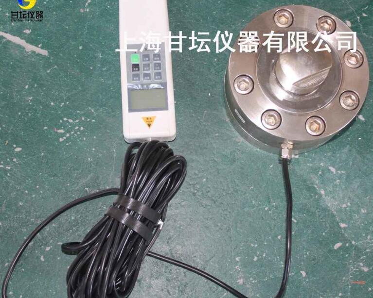 传感器外置板簧式500KN 50T电子推拉力计可采集各种数据